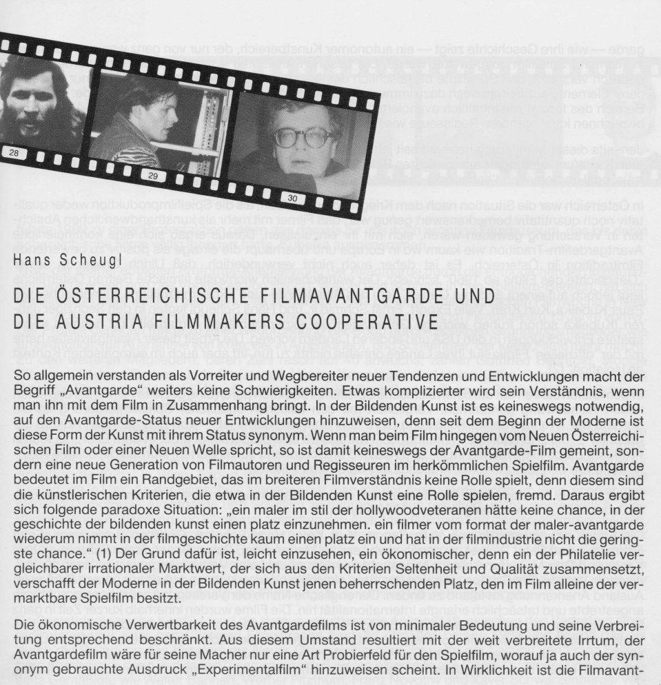 HansScheugl-1984-DieÖsterreichischeFilmavantgarde2