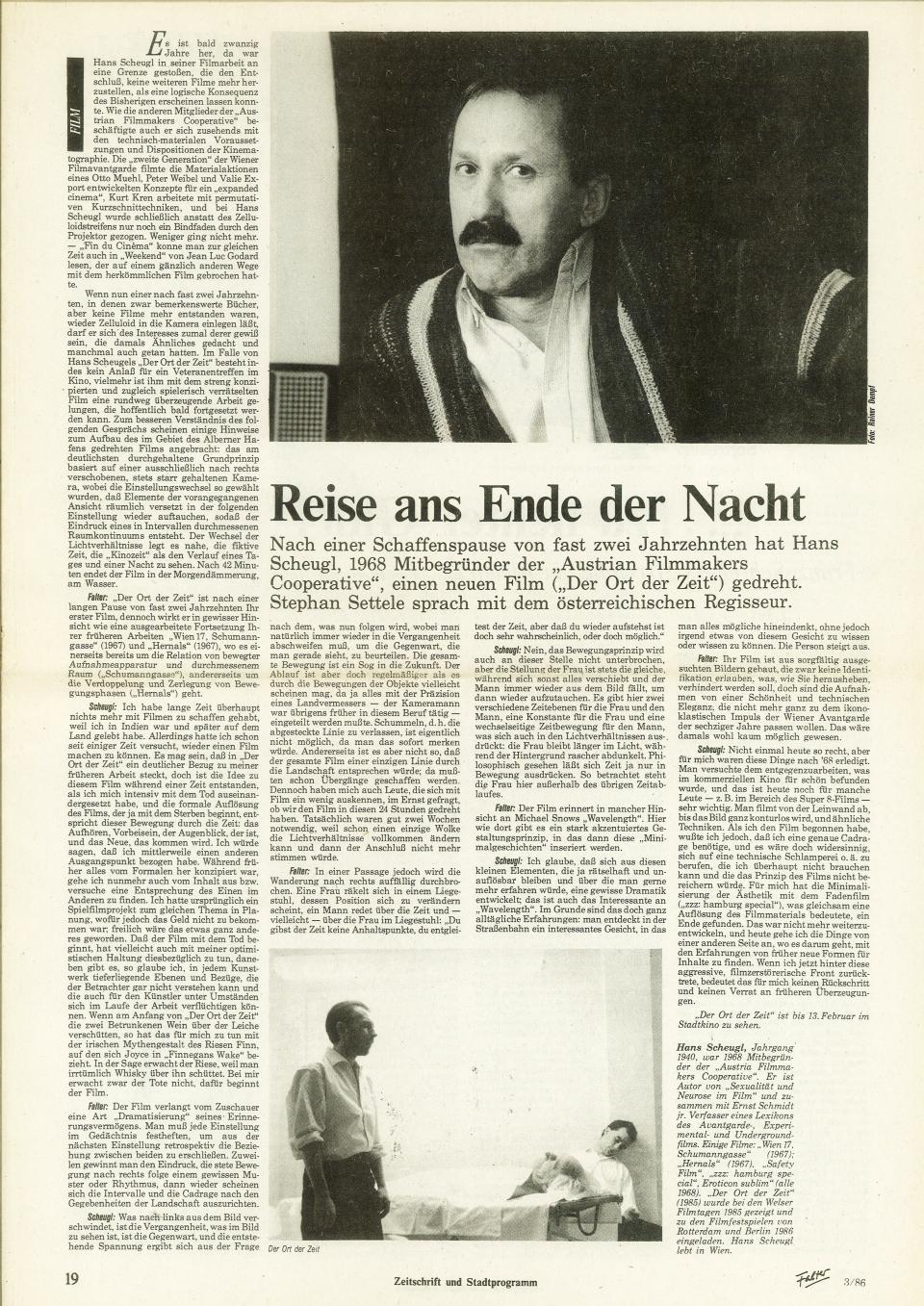 HansScheugl-1986-Reise ans Ende der Nacht